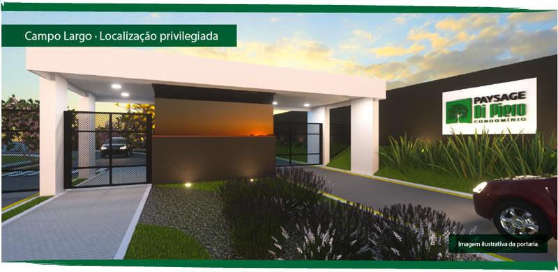 Campo Largo - Localização privilegiada.