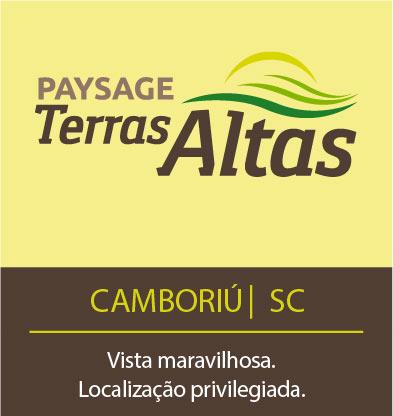 Paysage Terras Altas, em Camboriú-SC. Vista maravilhosa e localização privilegiada.